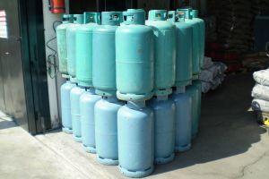 Φιάλες Υγραερίου Προπανίου Gas LPG Charcoal Briquettes Karvouna Margaritakis