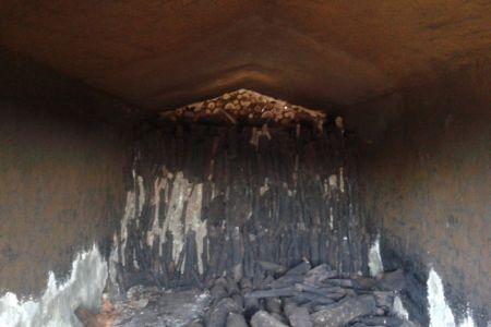 Φούρνος - Καμίνι για κάρβουνα - Charcoal Briquettes Karvouna Margaritakis